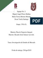 Tema Exposición Estudio de Mercado Resumen