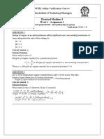 Assignment 4(5)