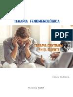Infografia. Terapia Centrada en El Cliente. Iraima v. Martínez m