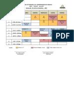 Plan de Actividades de Coordinador de Ciencias Del 18 Al 22 de Noviembre