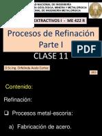 CLASE 11-Procesos Extractivos I 2015
