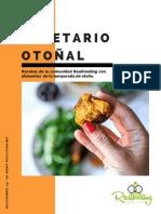 Recetario Realfooding Otoño 2019