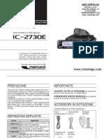 ICOM IC2730 Manuale Italiano 2