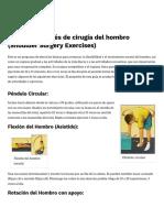 Ejercicios Del Hombro