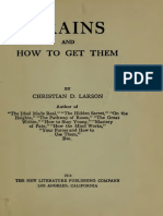 1914 Larson Brains and How to Get Them