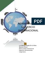 Normativa Del Comercio Exterior