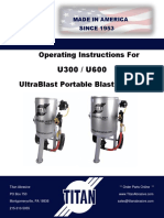 Titan Portable Blast Machine Manual