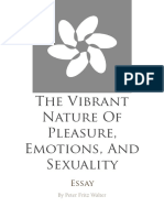 The Vibrant Nature of Pleasure, Emotions, and Sexuality