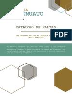 Catálogo de Maltas