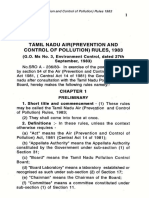 Tamil Nadu Air (prevention and Control of pollution) Rules 1993