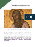 Acatistul Sfântului Apostol Andrei (După Arh. Ilie Cleopa)