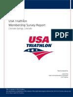 triathlon survey
