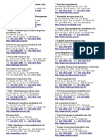 Lista de Empresas Imobiliarias
