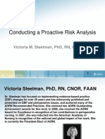 conducting a proaktiv risk analysis