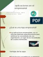 Nuevas Aplicaciones en El Mundo Empresarial