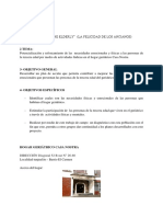 Proyecto Cultura Solidaria
