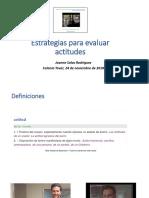 Evaluación de Actitudes JS