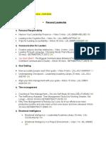 Diccionario de cursos - Your Learning PM`s