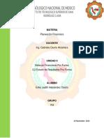 Unidad II Planeacion Financiera