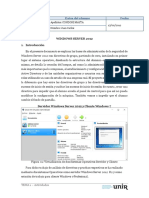 Windows Server 2012 R2 - Directivas