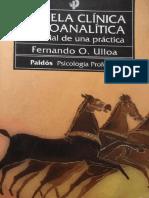 Fernando Ulloa - Novela Clínica Psicoanalítica