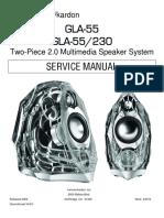 Harman kardon gla 55 service manual