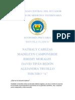 Economía pecuaria