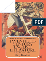 (Macmillan History of Literature Series) Harry Blamires (Auth.) - Twentieth-Century English Literature-Palgrave Macmillan UK (1986)