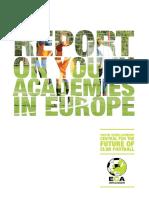Eca Report on Youth Academies