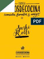 Libro Cursos de Cocina 2019 - Sushi - Web