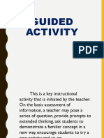 Guided Activity