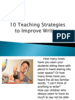 10 Teaching Strategies Ppt