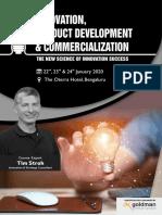 Innovation & new product development.