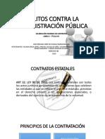 Delitos Contra La Contratación Pública