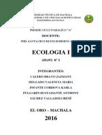 Ecologia Practica i