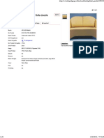 ARCHIGRAMMA Sofa Double Seater SPG-2