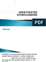 Unsaturated Hydrocarbons for Printing
