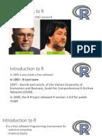R01 Installation Introduction