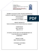 Role of Insurance Sector in Financial Markets