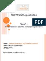 redaccion academica
