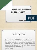 INDIKATOR PELAYANAN RS LENGKAP.ppt