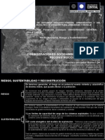 PRESENTACIÓN-CONSIDERACIONES SOCIO-AMBIENTALES PARA LA RECONSTRUCCIÓN
