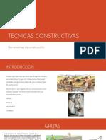 TECNICAS CONSTRUCTIVAS