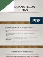 Aduana Tecun Umán