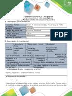 Guía Componente Práctico - Salida de Campo