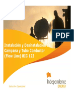 I-En-ee-319 Instalación y Desinstalación de Campana y Tubo Conductor (Flow Line) r