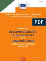 2016 ETDL Enfoque Territorial de Desarrollo Territorial