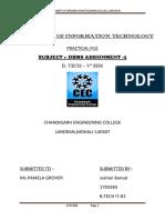Assignment DBMS
