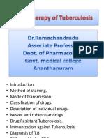 Anti T.B drugs