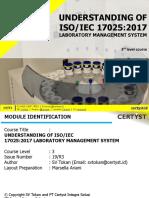Understanding ISO 17025